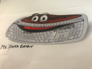 Mr Data Entry a fine character